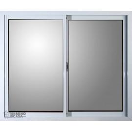 Ventana Aluminio Blanco Vidrio Entero Eco 0.60x0.40