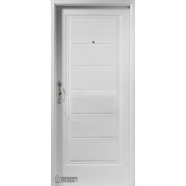 Puerta Deluxe 1 Tablero Machimbrado Horizontal  0.85 Derecha
