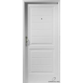 Puerta Deluxe 2 Tablero Machimbrada Horizontal 0.90 Derecha