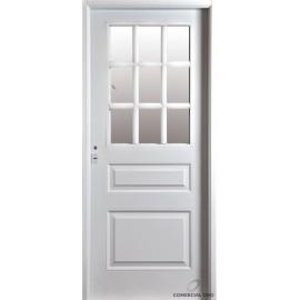 Puerta Iny. Galva 3 Tableros 1/2 Vidrio 0.85 Der