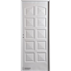 Puerta Nexo De Acero, Inyectada,  Linea Eco, 10 Tableros, Ciega 86cmts Derecha