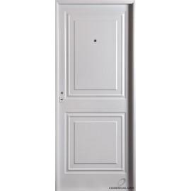 Puerta Nexo De Acero, Inyectada,  Linea Eco, 2 Tableros, Ciega 86cmts Derecha
