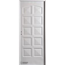 Puerta Nexo De Acero, Inyectada,  Linea Eco, 10 Tableros, Ciega 84cmts Derecha