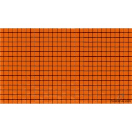 Cerámico Cristofoleti Modelo 3244 32x56 1ra Hd Venecita Naranja Vivo