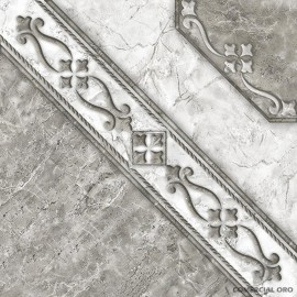 Cer Allpa Bizantino Gris 46x46 1ra Pei4 M2.14/cj