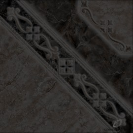Cer Allpa Bizantino Negro 46x46 1ra Pei4 M2.14/cj