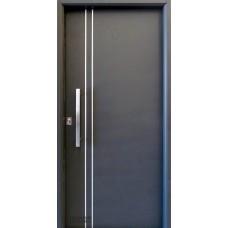 Puerta Deluxe Style Li C/det Vert Al Anod C/cil Eur 0.90 Izq