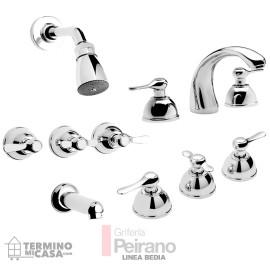 Kit De Griferia Modelo Bedia C. Ceramico Sin Accesorios