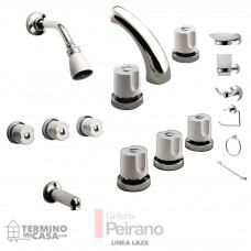 Kit Griferia Laza Cierre Comp C/accesorios