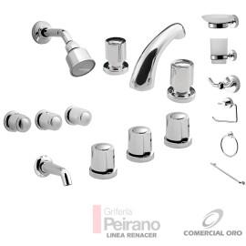 Kit Griferia Renacer Cierre Comp C/accesorios