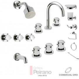 Kit Griferia Betis Cierre Comp C/accesorios