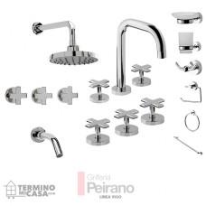 Kit Griferia Vigo Cierre Cer C/accesorios