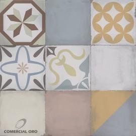 Cerámico Allpa Mosaico Veccio 51x51 2da PEI 4