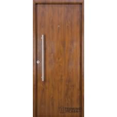 Puerta foliada Nexo Deluxe Wood 90 cm Nogal Derecha