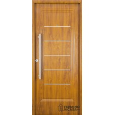 Puerta foliada Nexo Deluxe Wood 90 cm Roble Derecha 1 Tab