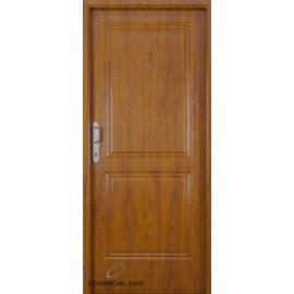 Puerta foliada Nexo Deluxe Wood 90 cm Nogal Derecha 2 Tab