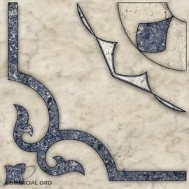 Ceramico Allpa San Telmo Azul 36x36 2da (Nva. Pallet)