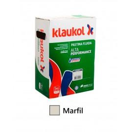 Pastina Klaukol Marfil para porcleanato Bolsa 5 kg.