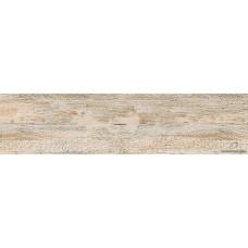 Porcellanato Rectificado Villagre 24.5x100  Parina Blanco Simil Madera