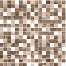 Ceramico Ferrazano Burano Marron Tipo Malla 36x36 Primera