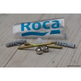Roca Monaco- Juego Fij Para Inodoro Y Bidet