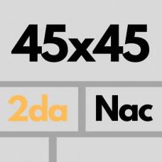 Cer Nac 45 X 45 2da