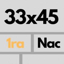 Cer Nac 33 X 45 1ra