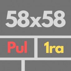 Por Nac 58 X 58 1ra Rec Pul