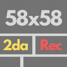 Por Nac 58 X 58 2da Rec Nat