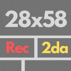 Por Nac 28 X 58 2da Rec Nat