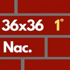 Ladrillon Rojo 36x36 1ra
