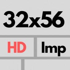 Cer Imp 32 X 56 Hd