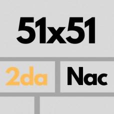 Cer Nac 51 X 51 2da