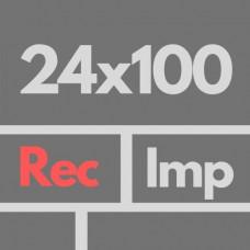 Por Imp 24 X 100 Rectificados