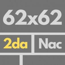 Por Nac 62 X 62 2da