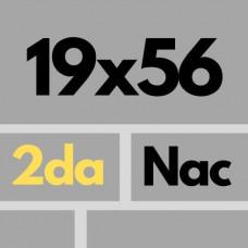 Porcelanicos 19 X 56,5 2da