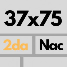 Cer Nac 37.5 X 75 2da