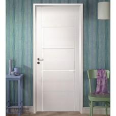 puerta con marco madera para pintar