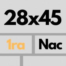 Cer Nac 28 X 45 1ra