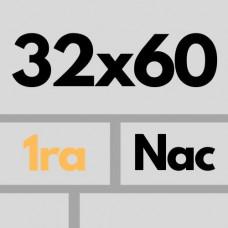 Cer Nac 32 X 60 1ra