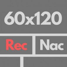 Por Nac 60 X 120 1ra Rec Nat