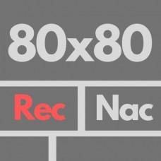 Por Nac 80 X 80 1ra Rec Nat