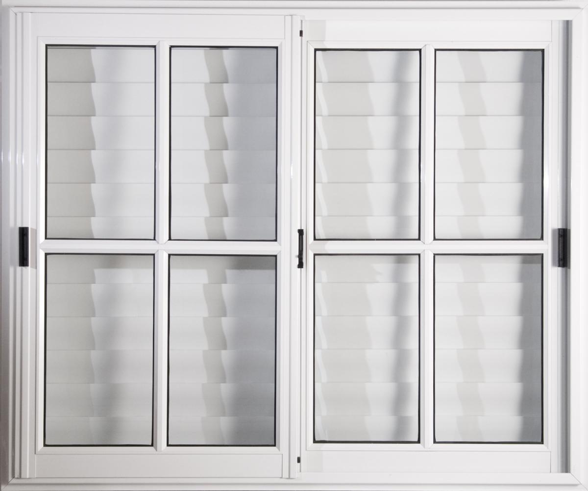 Vta vid rep c vid y cel cdza clasic blanca - Celosias para ventanas ...