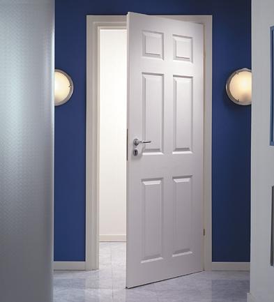 Puerta placa de 70 modelo colonial for Pintura para marcos de puertas